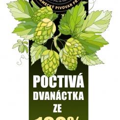 Albrecht poctivá 12° ze zeleného chmele – Zámecký pivovar Frýdlant