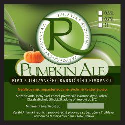 Pumpkin Ale – Radniční pivovar Jihlava