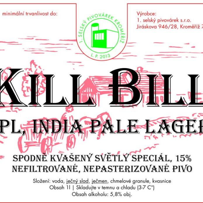 Kill Bill – 1. selský pivovárek