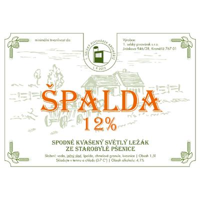 Špalda – 1. selský pivovárek