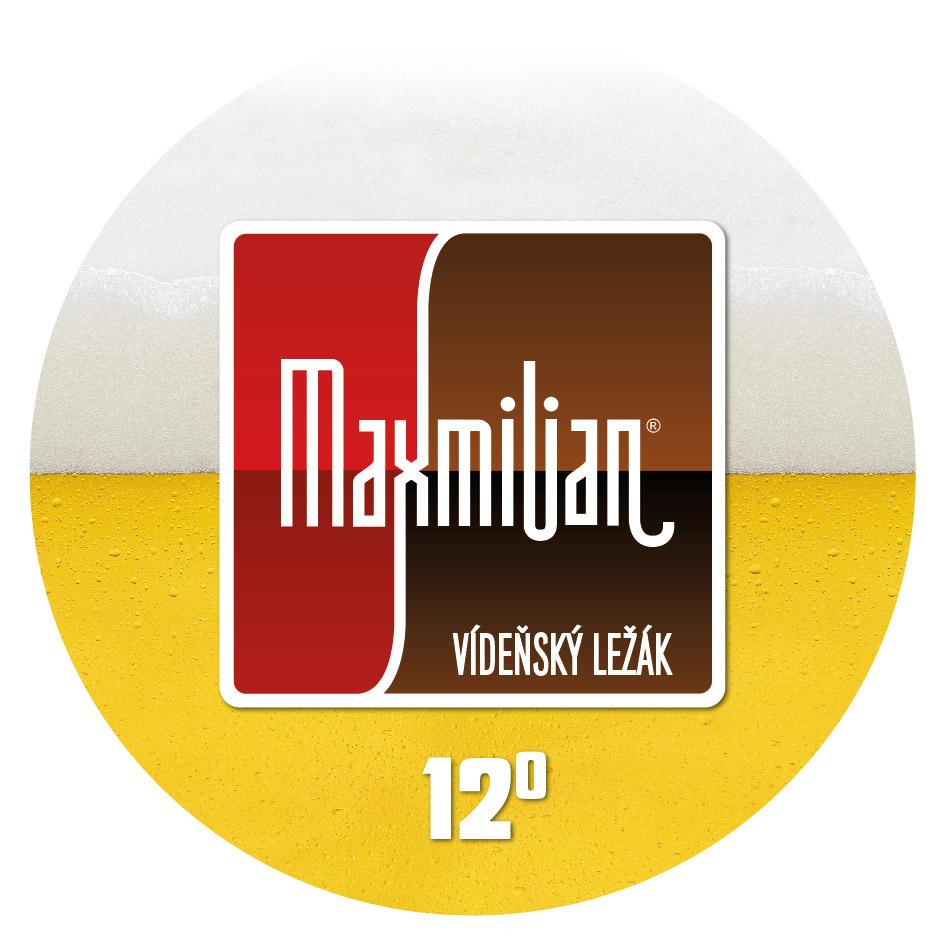 Maxmilian vídeňský ležák 12° – Pivovar Kroměříž